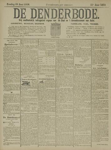 De Denderbode 1898-06-19
