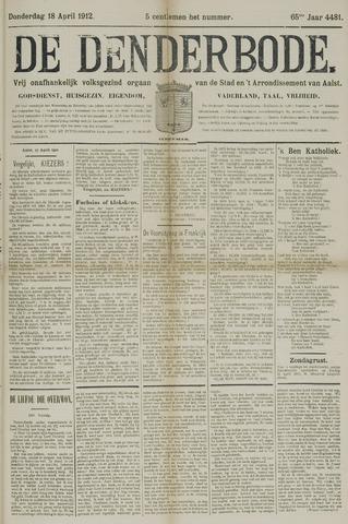 De Denderbode 1912-04-18
