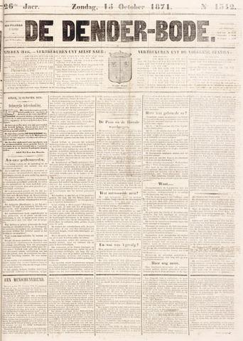 De Denderbode 1871-10-15