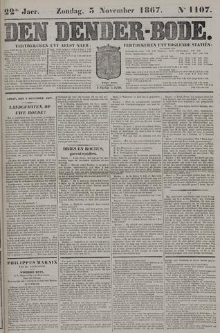 De Denderbode 1867-11-03