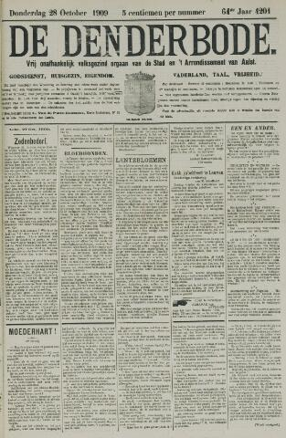De Denderbode 1909-10-28