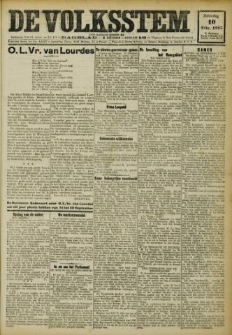 De Volksstem 1923-02-10
