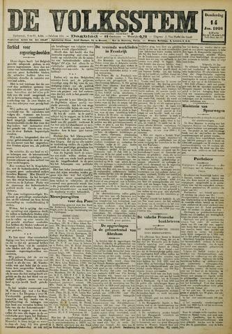 De Volksstem 1926-01-14