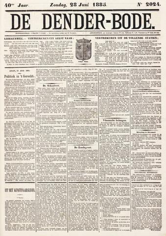 De Denderbode 1885-06-28