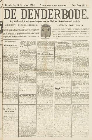 De Denderbode 1901-10-03