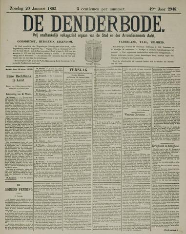 De Denderbode 1895-01-20