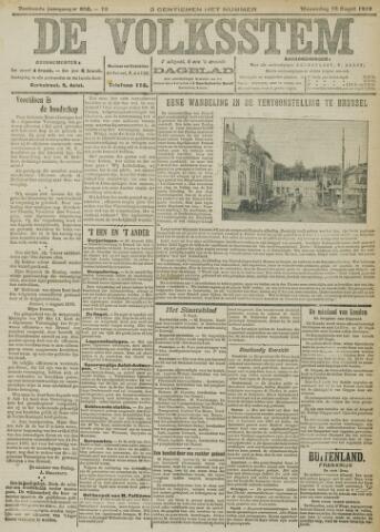 De Volksstem 1910-08-10