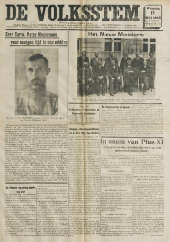 De Volksstem 1938-05-18