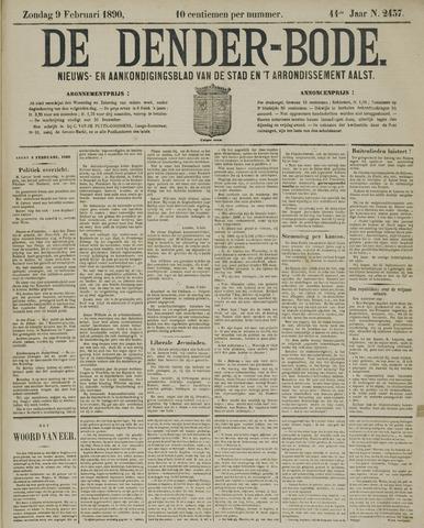 De Denderbode 1890-02-09