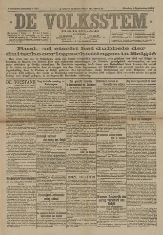 De Volksstem 1914-09-01