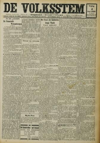 De Volksstem 1926-06-04