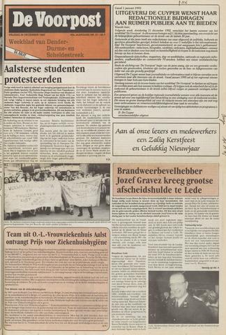 De Voorpost 1992-12-25