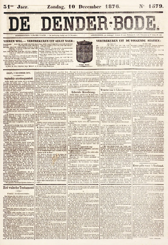 De Denderbode 1876-12-10