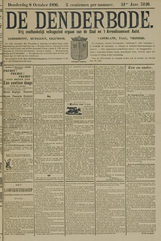 De Denderbode 1896-10-08