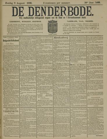 De Denderbode 1896-08-09