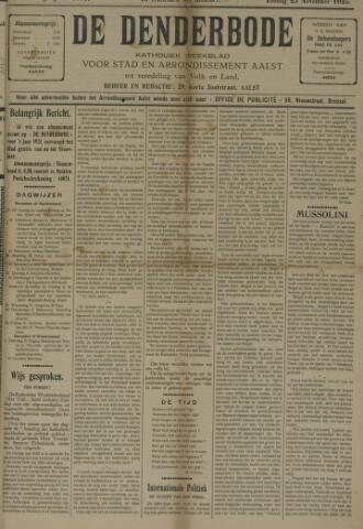 De Denderbode 1923-11-25
