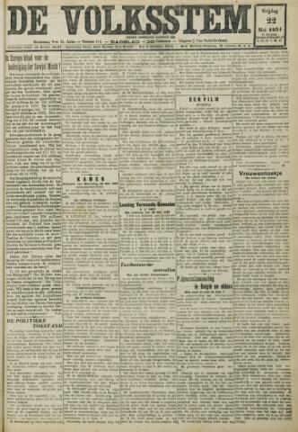 De Volksstem 1931-05-22