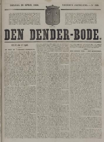 De Denderbode 1850-04-28