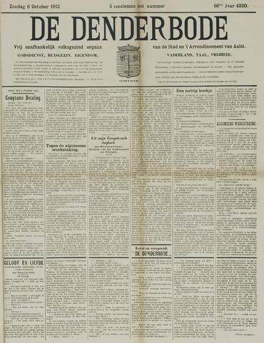 De Denderbode 1912-10-06