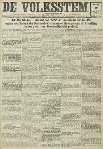 De Volksstem 1930-08-19