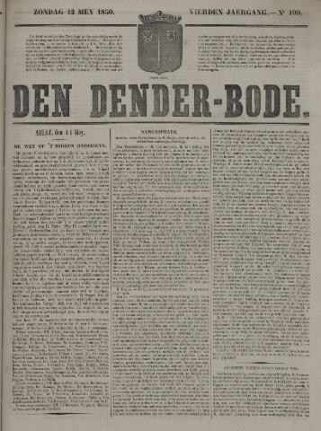 De Denderbode 1850-05-12