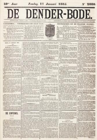 De Denderbode 1885-01-11