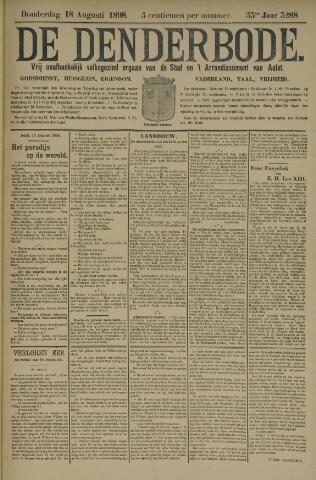 De Denderbode 1898-08-18