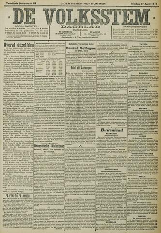 De Volksstem 1914-04-17