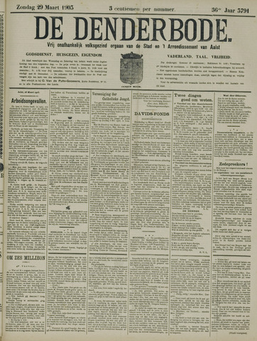 De Denderbode 1903-03-29