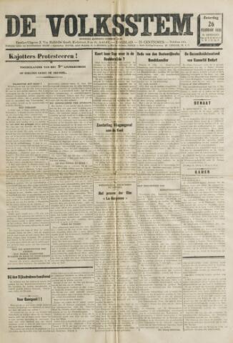 De Volksstem 1938-02-26