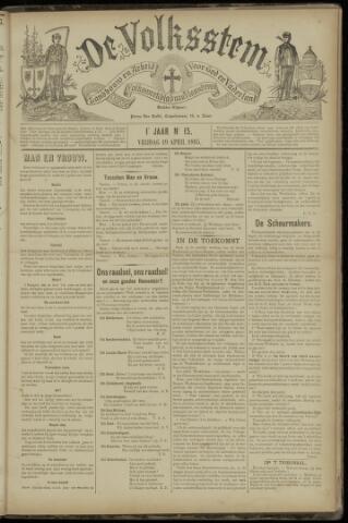De Volksstem 1895-04-19