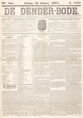 De Denderbode 1874-01-25