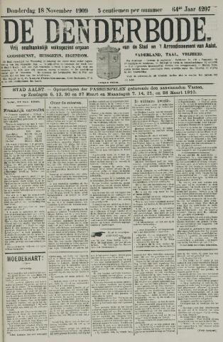 De Denderbode 1909-11-18