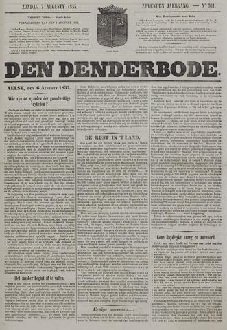 De Denderbode 1853-08-07
