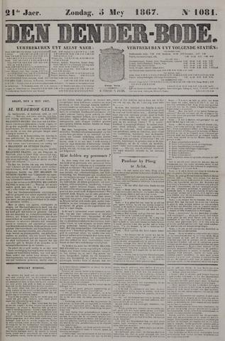 De Denderbode 1867-05-05
