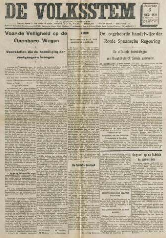 De Volksstem 1938-12-03