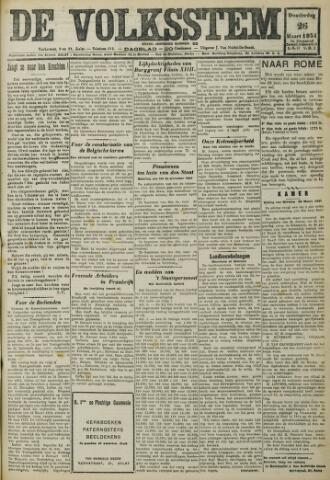 De Volksstem 1931-03-26