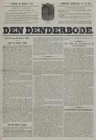 De Denderbode 1854-03-26