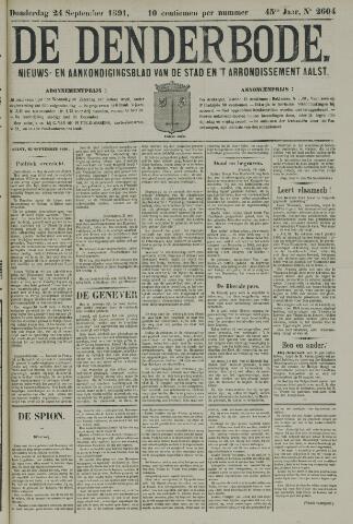De Denderbode 1891-09-24