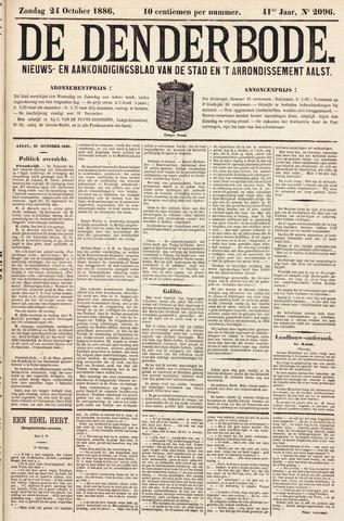 De Denderbode 1886-10-24