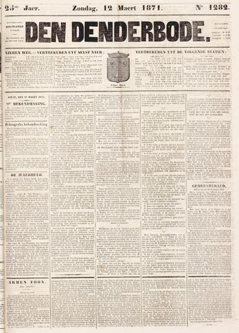 De Denderbode 1871-03-12