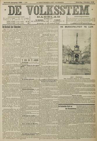 De Volksstem 1910-10-01