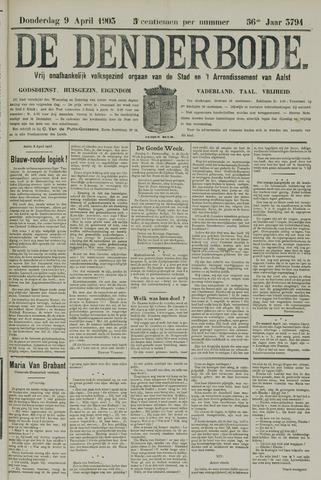 De Denderbode 1903-04-09