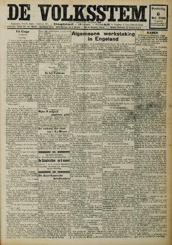 De Volksstem 1926-05-06