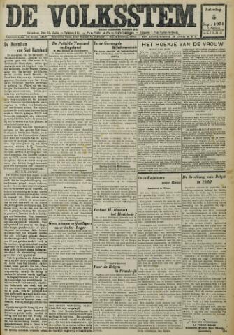 De Volksstem 1931-09-05