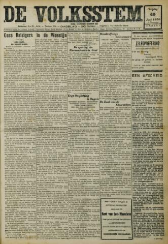 De Volksstem 1930-06-20