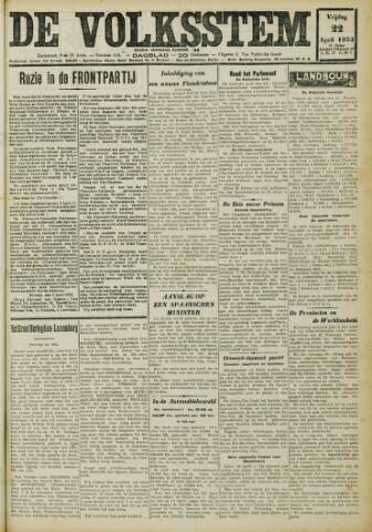 De Volksstem 1932-04-22
