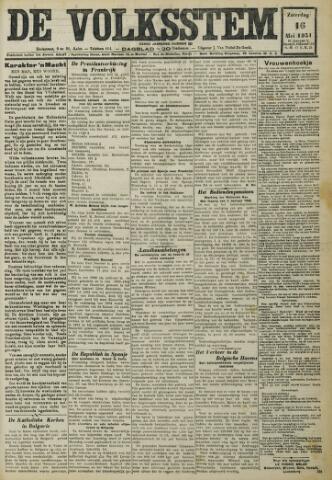 De Volksstem 1931-05-16