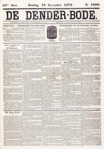 De Denderbode 1878-11-10