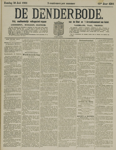 De Denderbode 1911-07-30